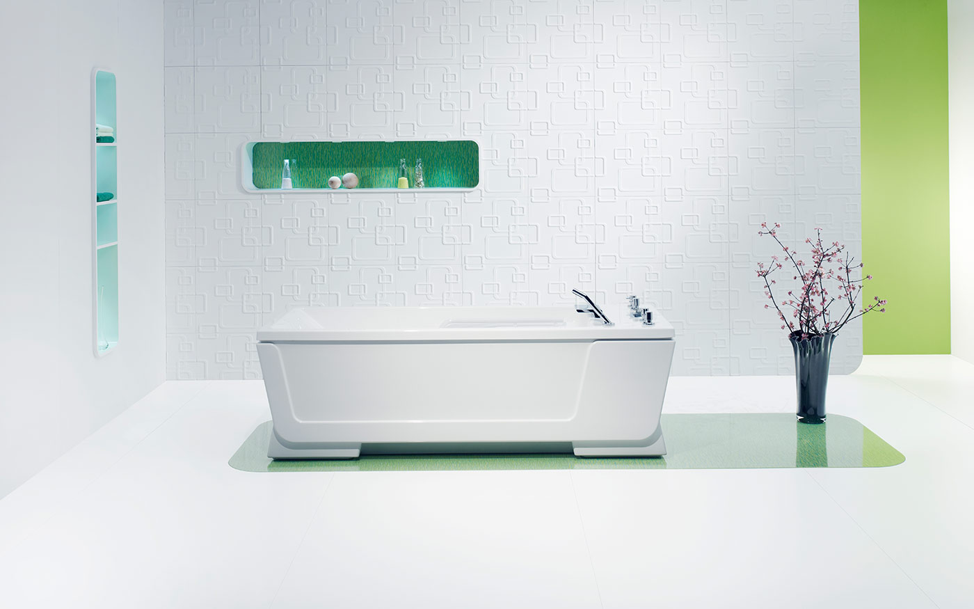Avantgarde massage tub